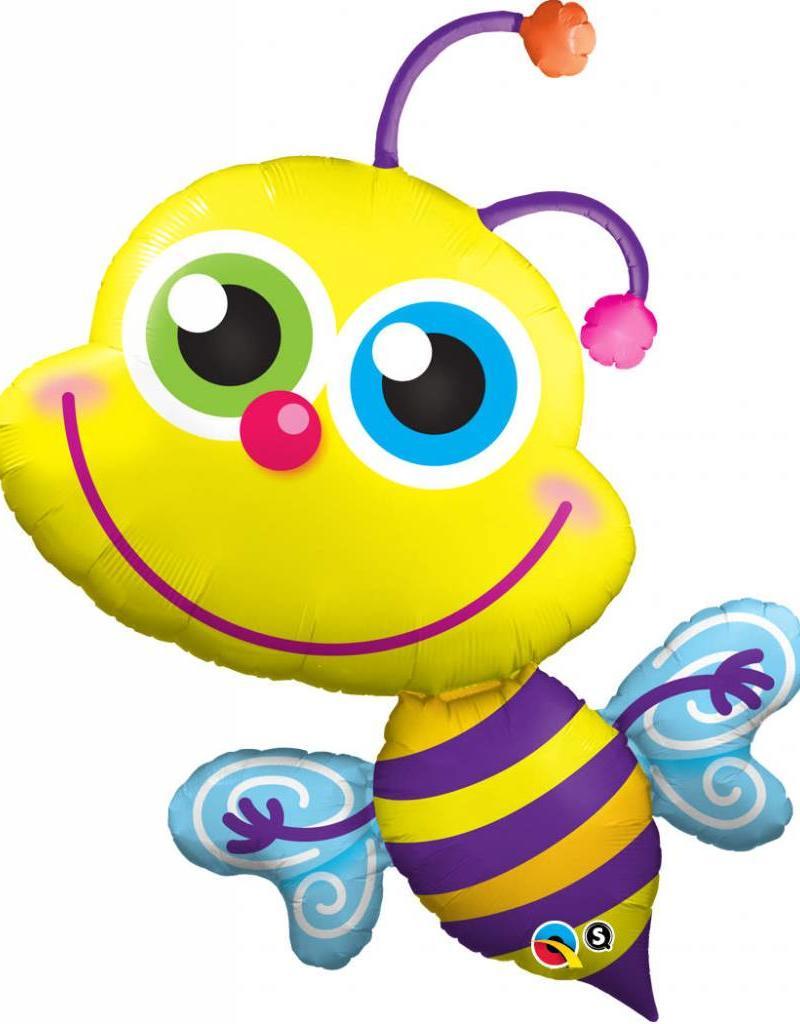 "Qualatex 40"" BEAMING BEE"