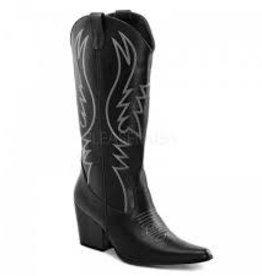Cowboy (COW200) Boot womens - Black - 8M