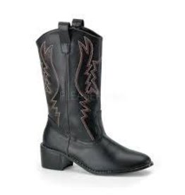 Cowboy (COW100) Boot - Black - M