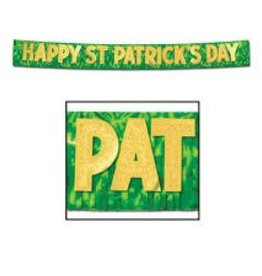 ST PATRICKS DAY PARTY BANNER