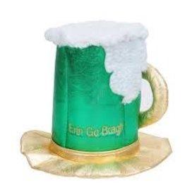St Patricks Day Beer Mug Hat