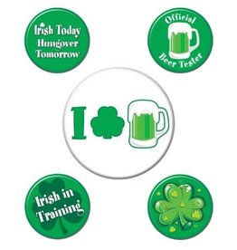 St. Patrick's Day Button Set