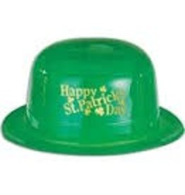 St. Patrick's Day Plastic Derby Hat