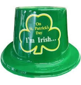 St. Patrick's Day Plastic Top Hat