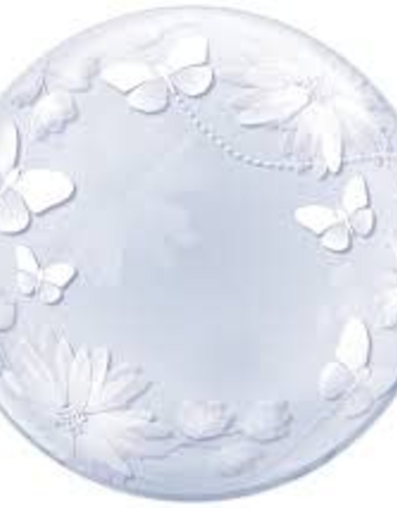 "20"" Deco Bubble - Butterflies and Flowers"