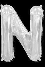 "34"" Letter N - Silver"