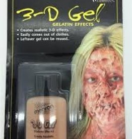 MEHRON 3-D GEL SQUEEZE BOTTLE FLESHTONE