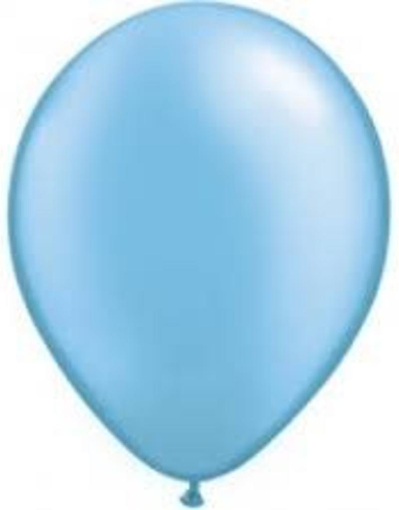 "Qualatex 05"" PEARL AZURE 100CT"