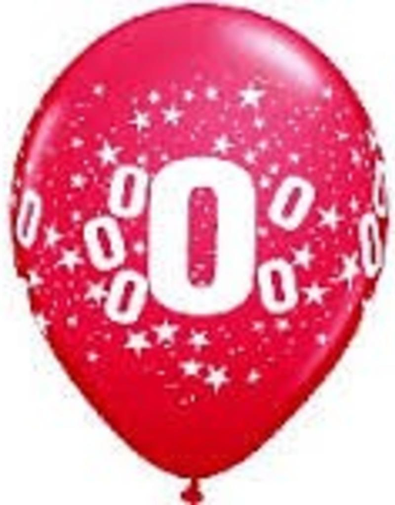 "Qualatex 11"" #0 Assorted 100ct"
