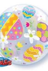 "Qualatex 22"" Bubble - Easter Egg"