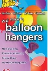 Qualatex BALLOON HANGERS wall safe stickers 12 pkg
