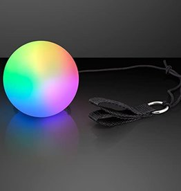 LED POI BALL SWIRLING LIGHT TOY