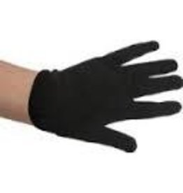 BLACK COTTON GLOVE