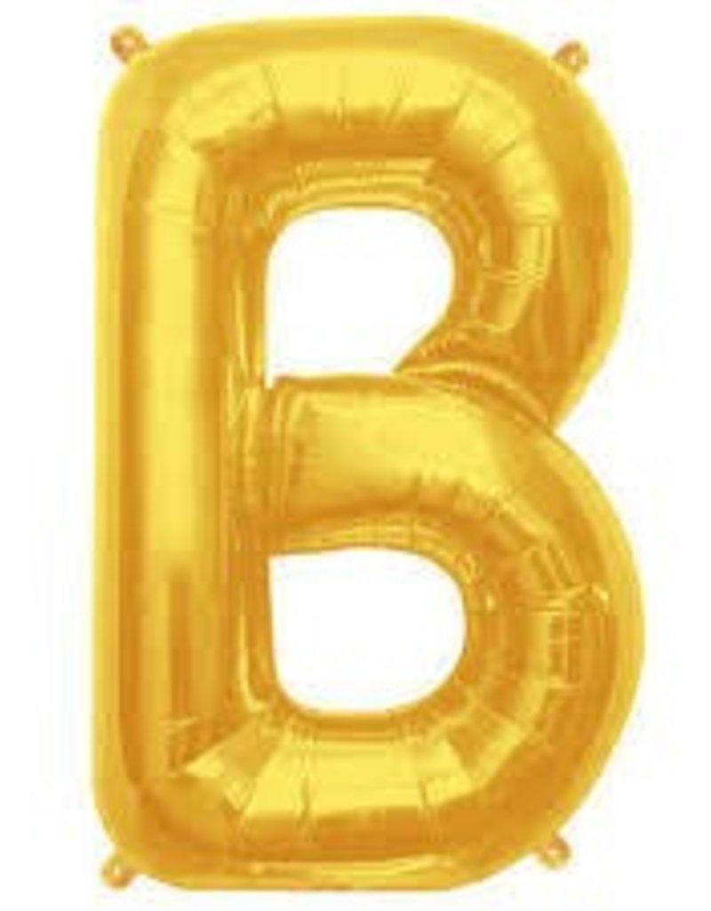 "34"" Letter B - Gold"