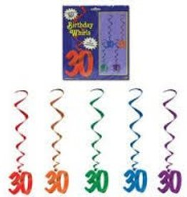30TH BIRTHDAY WHIRLS