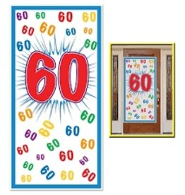 60TH DOOR COVER