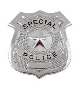 METAL MEDIUM POLICE BADGE