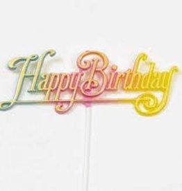 Happy Birthday Stick