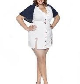 Red Cross Cutie -1X Plus Size-