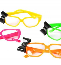 Bow Neon Glasses