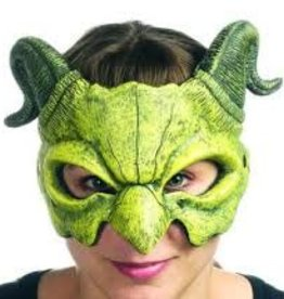 MEDIEVAL DRAGON GREEN MASK