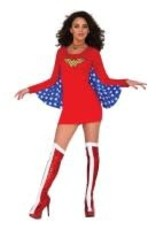 Wonder Woman Dress with Wings -Small/Medium-