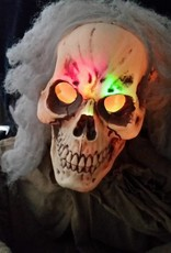CHANGING LED HANGING GHOUL