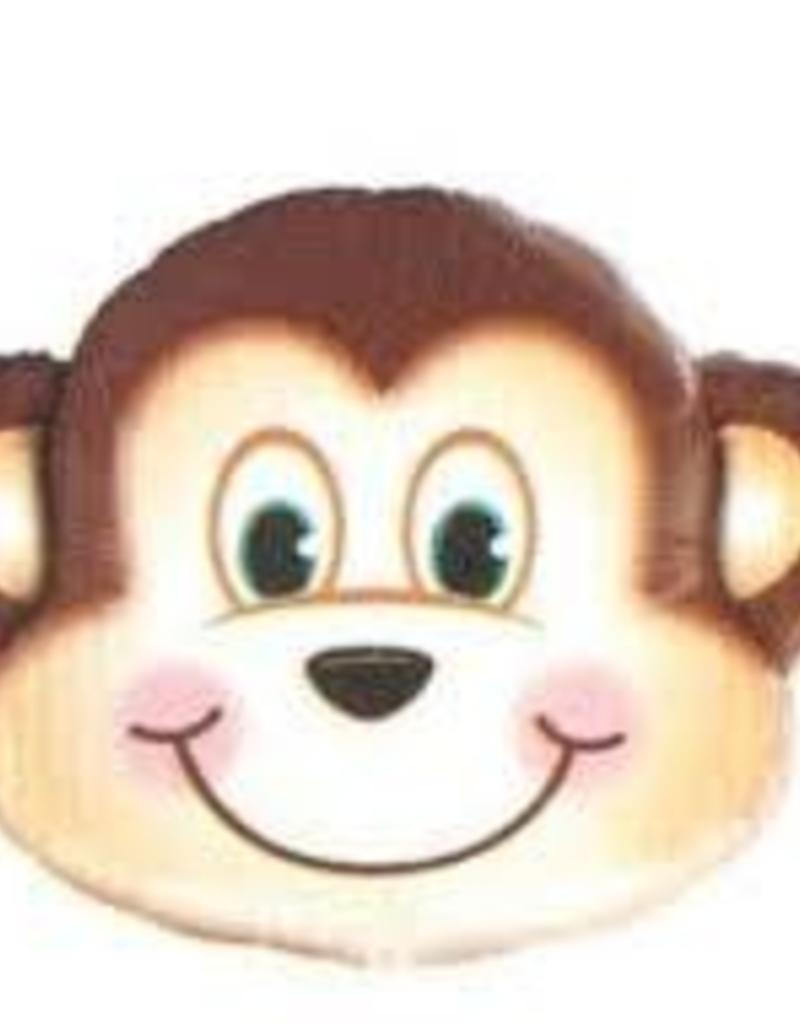 "Qualatex 14"" MISCHIEVOUS MONKEY HEAD"