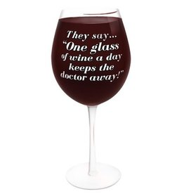 THE GIANT WINE GLASS