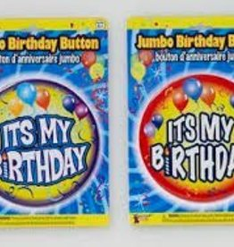 JUMBO BIRTHDAY BUTTON