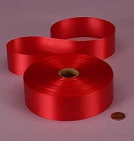 Qualatex POLY RIBBON #9 RED 200YDS