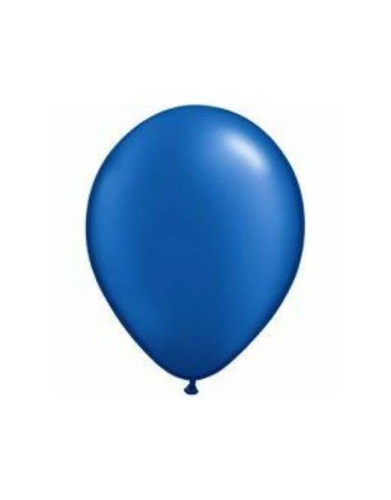 "Qualatex 05"" PEARL SAPPHIRE BLUE 100CT"