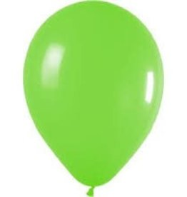 "Qualatex 05"" LIME GREEN 100ct"