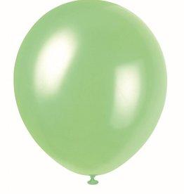 """Qualatex 05"""" PEARL MINT GREEN 100ct"""