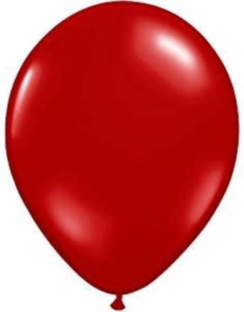 """Qualatex 05"""" PEARL RUBY RED 100ct"""