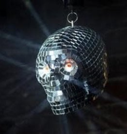 SKULL DISCO MIRROR BALL LIGHT UP