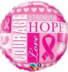 "18"" BREAST CANCER (FLAT)"