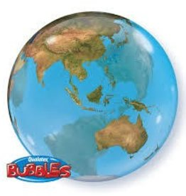 "Qualatex 22"" Bubble - Earth"