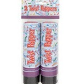 "6"" PARTY POPPERS (2PK)"