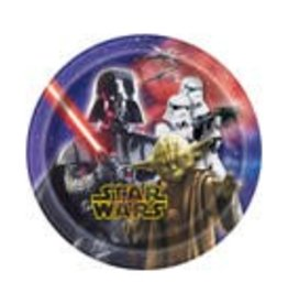 "7"" STAR WARS PAPER PLATE"