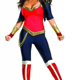 WONDER WOMAN ONE-PIECE WITH PANTS
