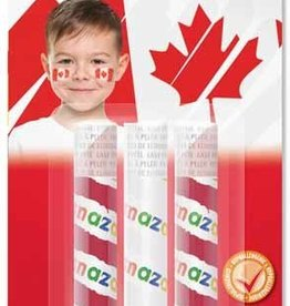 CANADA DAY SNAZAROO FACEPAINT KIT - 3 PACK