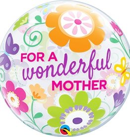 """Qualatex 22"""" Bubble - For A Wonderful Mother"""