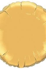 "Qualatex 18"" ROUND GOLD"