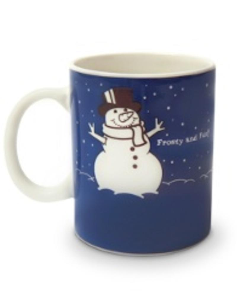 Colour Changing Before And After Meltin Snowman Mug Gags