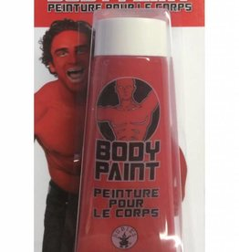 3.4 oz. Red Body Paint