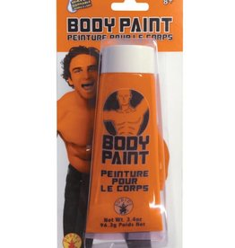 3.4 oz. orange Body Paint