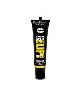 Neon UV Lip Gloss Banana Split