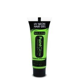 Neon UV Hair Gel Green