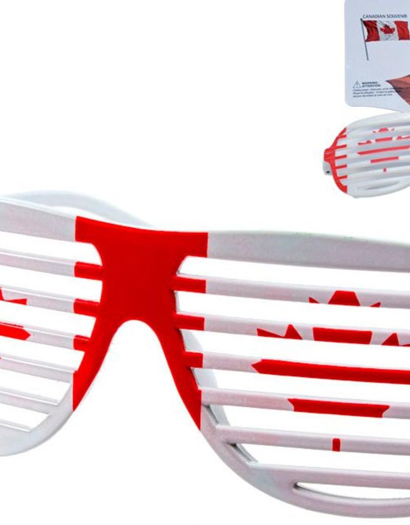 Canada Shutter Party  Glasses